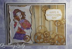 Quilling Lady: Santoro card collection