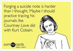 Courtney Love meme.