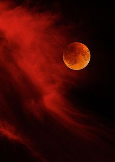 Another pinner said: Watching the lunar eclipse (blood moon) anyone watching with me?