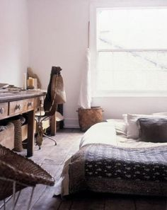 Home Bohemian Bedroom Decor from Around the World Decor, Room, Interior, Home, Home Bedroom, Bedroom Design, Floor Bed, Bedroom Inspirations, Interior Design
