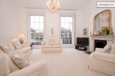 Beautiful sitting room in a luxury townhouse on Regent's Park Terrace.