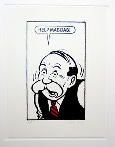 Paw Broon says: Help ma boab! - ( My granddad used to save the The Sunday Post cartoons for me. He lived in Yorkshire, not Scotland! Museum Of Childhood, Childhood Memories, Last Halloween, Glasgow Scotland, Dundee, Vintage Travel Posters, Funny Art, Comic Covers, Cartoon Images