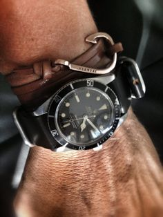 ♂ Man's fashion accessories watch Rolex 5508 and miansai