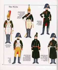 French; Imperial Guard, Dragoon(The Empress' Dragoons) Regt, NCOs