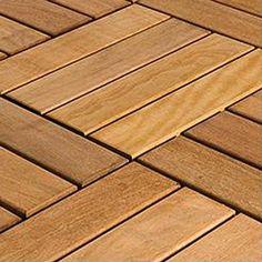 FlexDeck 10077486 Copacabana Itauba Floor Tiles - Outdoor Living Showroom