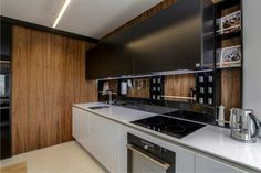 best kitchen wall panels from different materials, wall panels for kitchen Top tips on how to choose stylish kitchen wall panels made of different materials, and what is the best types of wall panels for kitchen, Kitchen Wall Panels, Wooden Wall Panels, Wooden Walls, Kitchen Tops, Kitchen Cabinets, Kitchen Appliances, Stylish Kitchen, Cool Kitchens, Backsplash