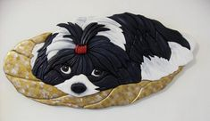 Bois Intarsia, Intarsia Wood Patterns, Wood Dog, Scroll Saw Patterns, Shih Tzu, Art Gallery, Woodworking, Diy Projects, Carving