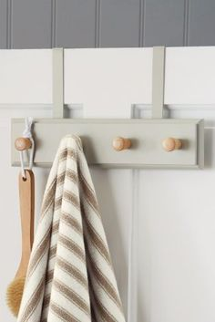 Buy Grey Wood 2 In 1 Hooks online today at Next: Israel