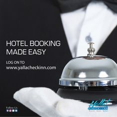 #Hotel #Booking Made #Easy 🛎️ www.yallacheckinn.com