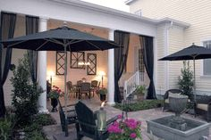 More ideas. #outdoor #outdoor_space #patio