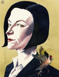 Donna Tartt by Siegfried Woldhek