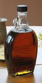 Homemade Sugar-Free Maple Syrup:        1 cup boiling water      up to 2 cups sugar substitute (Stevia Granular)      2 tsp cornstarch or other thickener (add more if needed)      1 tsp maple extract    from http://sheriemiron.com/2011/02/11/homemade-sugar-free-maple-syrup/