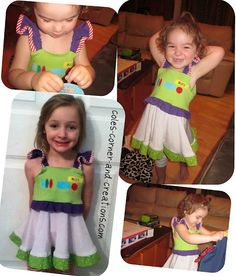 A Buzz Lightyear Dress!! Gracey would love this, she loves Buzz!