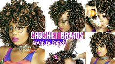 HOW TO | CROCHET BRAIDS ON 4C #NATURALHAIR |START TO FINISH + HOW TO REM...