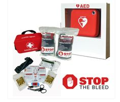 "No matter how fast EMS responds, a person can bleed to death in as little as five minutes. Rapid, public access to bleeding control products reduces time to treatment and saves lives in incidents of severe hemorrhage. This is the basis for the Department of Homeland Security's ""Stop the Bleed"" program, a nationwide campaign to empower individuals to act quickly and save lives.     The Rescue Essentials Bleeding Control Kit provides two separate, identical Bleeding Control Modul..."