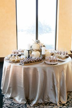 ABC Florida Luncheon at Bella Collina.  Dessert Buffet by Two Sweets Bake Shop, Photography by Amalie Orrange Photography, Linen by Wildflower Linens.