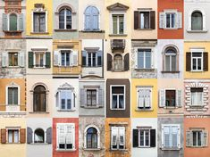 Image 4 of 13 from gallery of André Vicente Gonçalves Documents Hundreds of Doors and Windows Around the World. Windows of Trento. Walking On Glass, European Windows, Travel Around The World, Around The Worlds, Detail Architecture, Window Photography, Photography 101, Photo Window, Goncalves