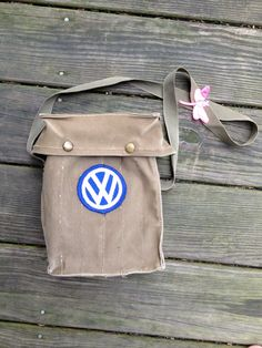 Vintage VW Volkswagen Patch Army Green by EuphoriaNineDesigns, $60.00