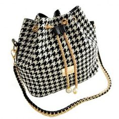 SHARE & Get it FREE | Stylish Women's Shoulder Bag With Houndstooth and Chains DesignFor Fashion Lovers only:80,000+ Items • New Arrivals Daily • Affordable Casual to Chic for Every Occasion Join Sammydress: Get YOUR $50 NOW!