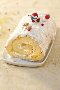 Food Cakes, Cupcake Cakes, Jelly Roll Cake, Gateau Cake, Dessert Original, Desserts With Biscuits, Pavlova, Christmas Treats, Panna Cotta