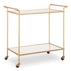 Bar Cart Metal/Gold - Safavieh