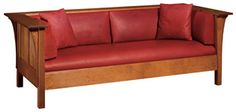 """We have two of these 89-220 Prairie Settle WOOD SPECIES:  Oak DIMENSIONS:  H29 W84 1/2 D37 1/2 DESCRIPTION:  Standard with two 20"""" throw pillows."""