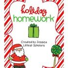 I created this packet for my students to take home and work on over the holiday break. Most students will be able to complete this packet independe...