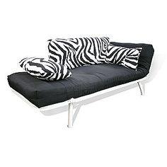 zebra mali soft cushion futon  american furniture alliance american furniture alliance modern loft collection futon mali flex      rh   pinterest