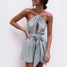 Women Clubwear Summer Playsuit Bodycon Party Jumpsuit Romper Trousers Shorts Hot