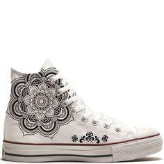 UNiCKZ All Stars Converse Mandala Tattoo #zapatillas