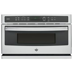 GE Profile Series Stainless Steel Built-in Microwave Oven - Overstock™ Shopping - The Best Prices on Over-the-Range Microwaves