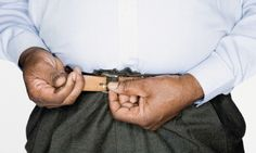Wearing a tight belt could give you throat cancer: Constricting waistbands cause acid reflux - increasing risk of the disease