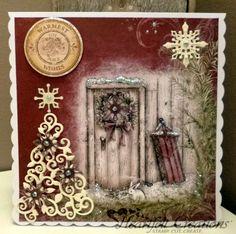 Kim Robertson for Heartfelt Creations; Warmest Joy And Peace using Season of Joy; Sept 2013
