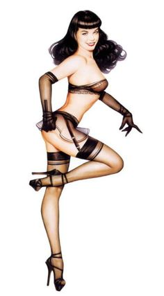 Betty, now put skates instead of heels and it would be perfect! http://stores.ebay.es/VIP-EROTICSTORE?_rdc=1