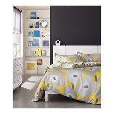 Marimekko Pieni Unikko Yellow Sheet Sets in Bed & Bath
