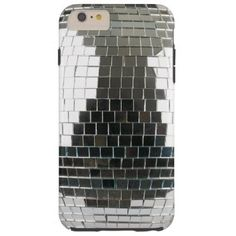 Mirrorball Disco Ball Tough iPhone 6 Plus Case mirrorball ball mirror disco glitter retro vintage glitterball mirrored 1970s 70s seventies era glam funk soul
