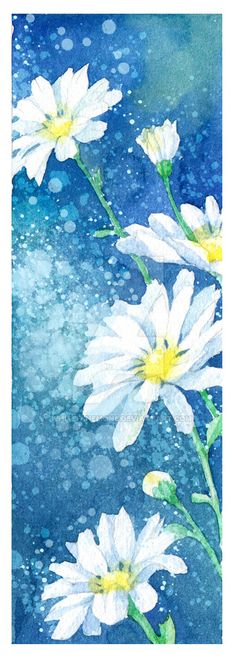 Bookmark daisy by White-Anemone on DeviantArt