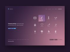 Let me introduce you our new project called Calmind. We've launched just part of project. The main part of Calmind is mobile app with more features like better sleep, sweet alarm, … Website Design Layout, Web Layout, Layout Design, Page Design, Design Design, Best Ui Design, Dashboard Design, App Ui Design, Brand Design