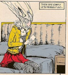 The Sandman 'Brief Lives' collection written by Neil Gaiman, and illustrated by Jill Thompson. Neil Gaiman, Comic Kunst, Comic Art, Comic Books, Klimt, Nocturne, Illustrations, Illustration Art, Dc Comics Series