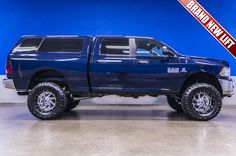 Custom Lifted 2013 Dodge Ram 2500 SLT 4x4 Cummins Diesel Truck For Sale | Northwest Motorsport