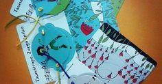 Taumatropo juego óptico. Nuestra creacion para el 2016. Un par de niñitas saltan la cuerda y un niño se disfraza de pájaro mientras cantan. Ilustraciónes de @siriauseche.