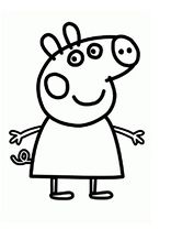 20 Coloring Pages Of Peppa Pig Fun For The Kids Peppa