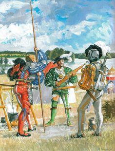 Наемники Тевтонского ордена ок. 1520 г.