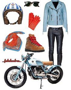 Biker fashion