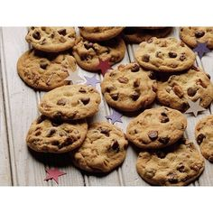 Ultimate Chocolate Chip Cookies Recipe from Betty Crocker by polytips ❤ liked on Polyvore