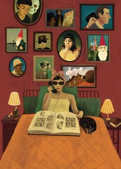 Image shared by Bárbara Farias. Find images and videos about poster, amelie poulain and le fabuleux destin d'amelie poulain on We Heart It - the app to get lost in what you love. Art Et Illustration, Illustrations, Chillout Zone, I Love Cinema, Destin, Wallpaper, Collage Art, Cool Art, Sketches