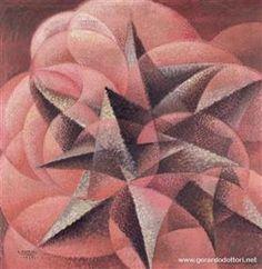 Armonie di forme contrarie - Gerardo Dottori