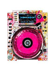 Pioneer CDJ 2000 Remix Art Contest Djs love art too and artists love music. Cdj Pioneer, Pioneer Dj, Dance Music, Music Lyrics, Dj Electro, Dj Sound, Dj Logo, Dj Setup, Cool Album Covers