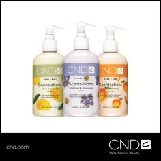 Scentsations™, a divine line of scented lotions and washes that turn any typical manicure into a full spa experience, launched in 1999. Also perfect for creating an at-home spa experience! #throwbackthursday #tbt #CNDhistory Learn more: http://www.cnd.com/products/hand-body/scentsations-lotion