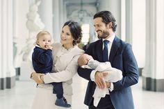 Nouvelles photos de famille pour le prince Carl Philip et la princesse Sofia de Suède avec leurs deux fils les princes Alexander et Gabriel. (Copyright photos : Cour royale de Suède)
